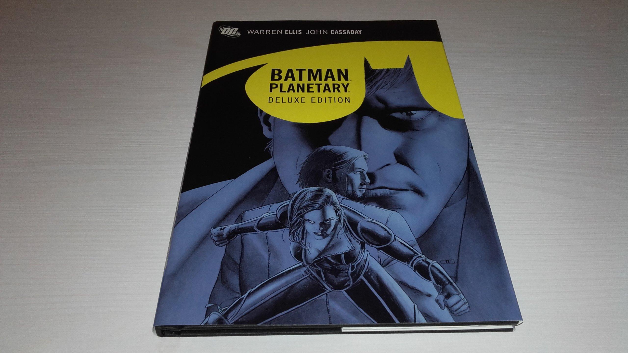 Batman/Planetary. Deluxe Hardcover. Warren Ellis
