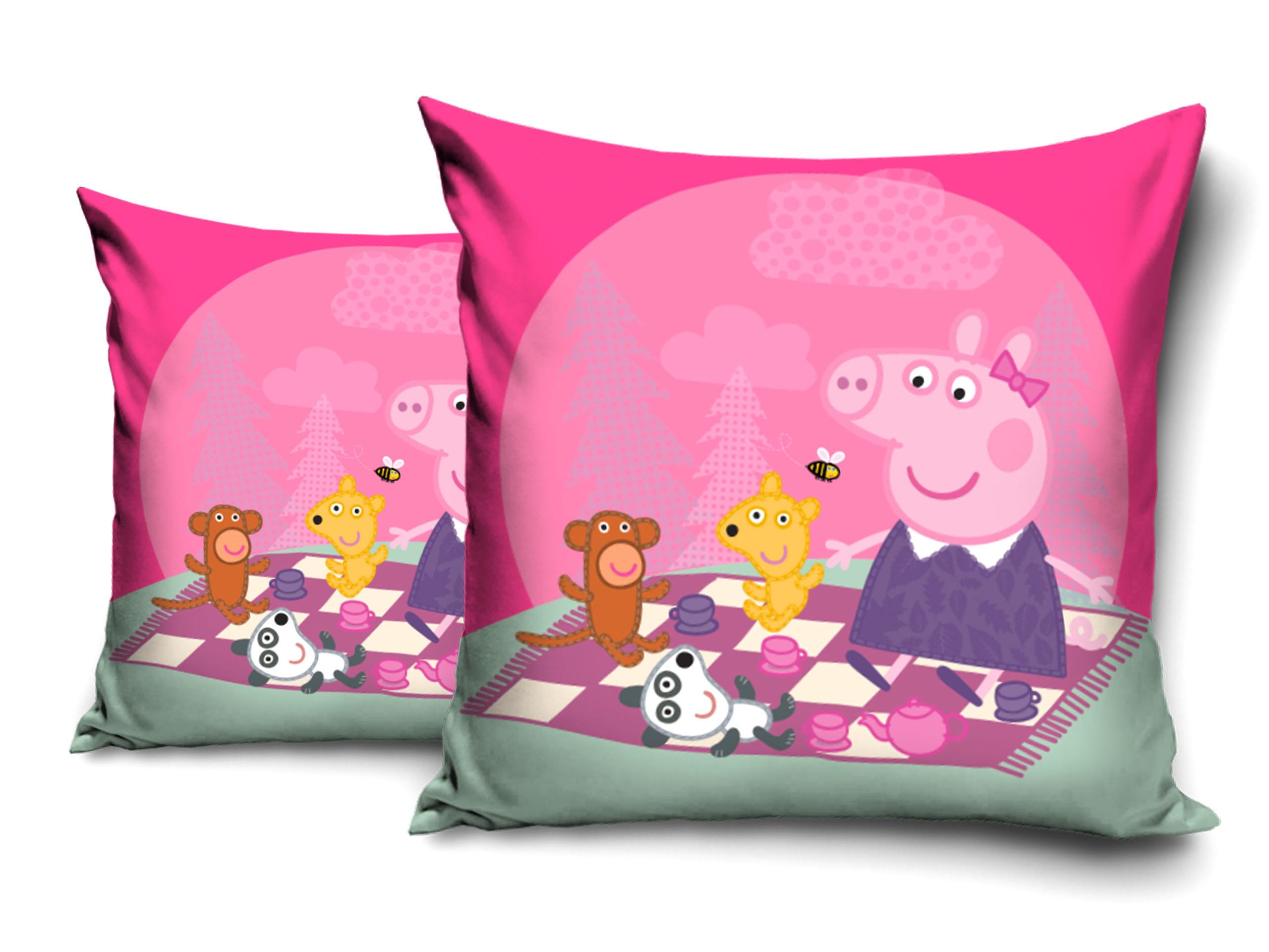 Poszewka Dla Dzieci 40x40 świnka Peppa Kocyk 7387953352