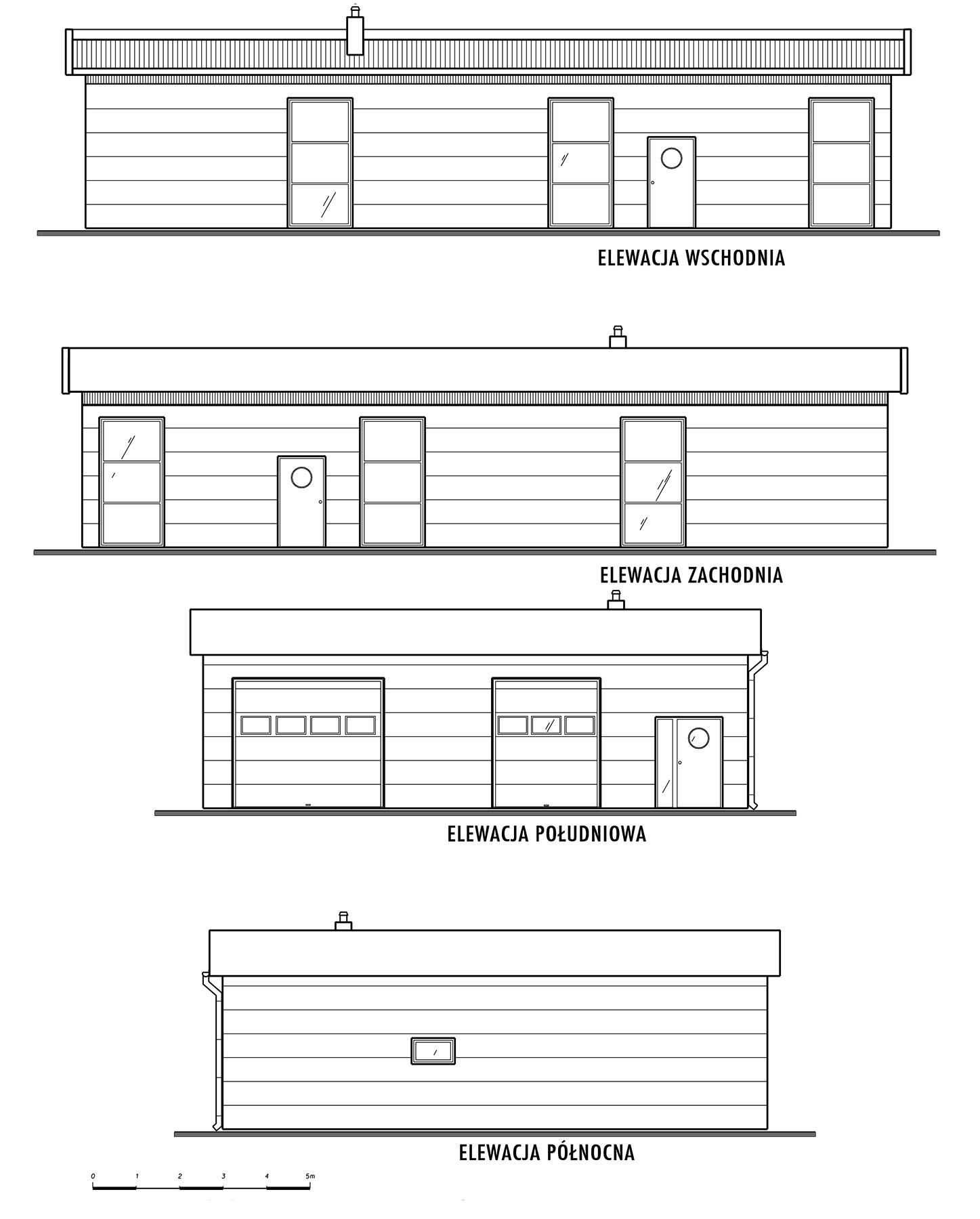 Konstrukcja hali stalowej z projektem 12,5x18,5 m