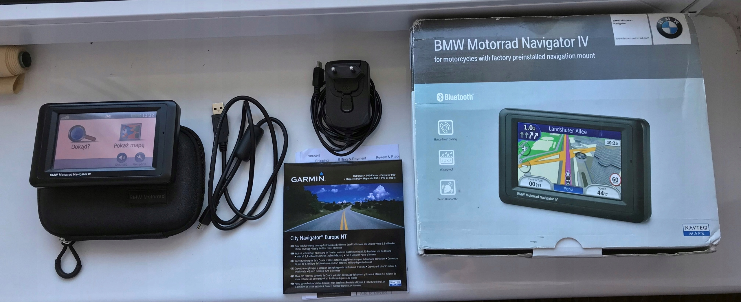 bmw navigator iv 4 jak garmin zumo 550 nawigacja. Black Bedroom Furniture Sets. Home Design Ideas