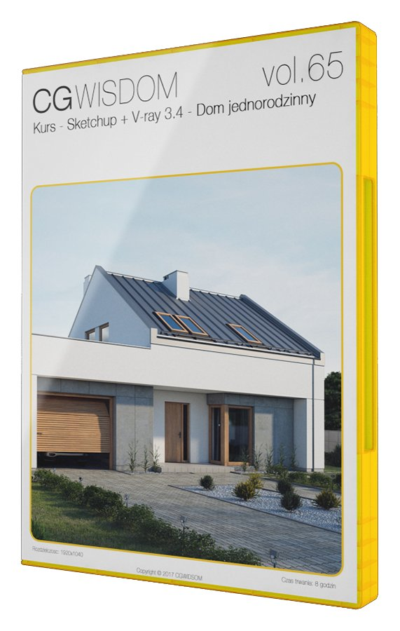 Kurs Sketchup V Ray 34 Wizualizacje Domu 7024530746