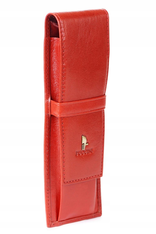 5be5c8ec0d3ae Puccini Skórzane etui na długopisy P-1808 czerwone - 7059873665 ...