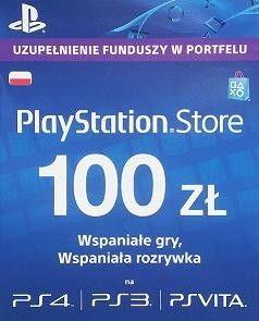Karta Playstation Network 100 Pln 7285778598 Oficjalne Archiwum