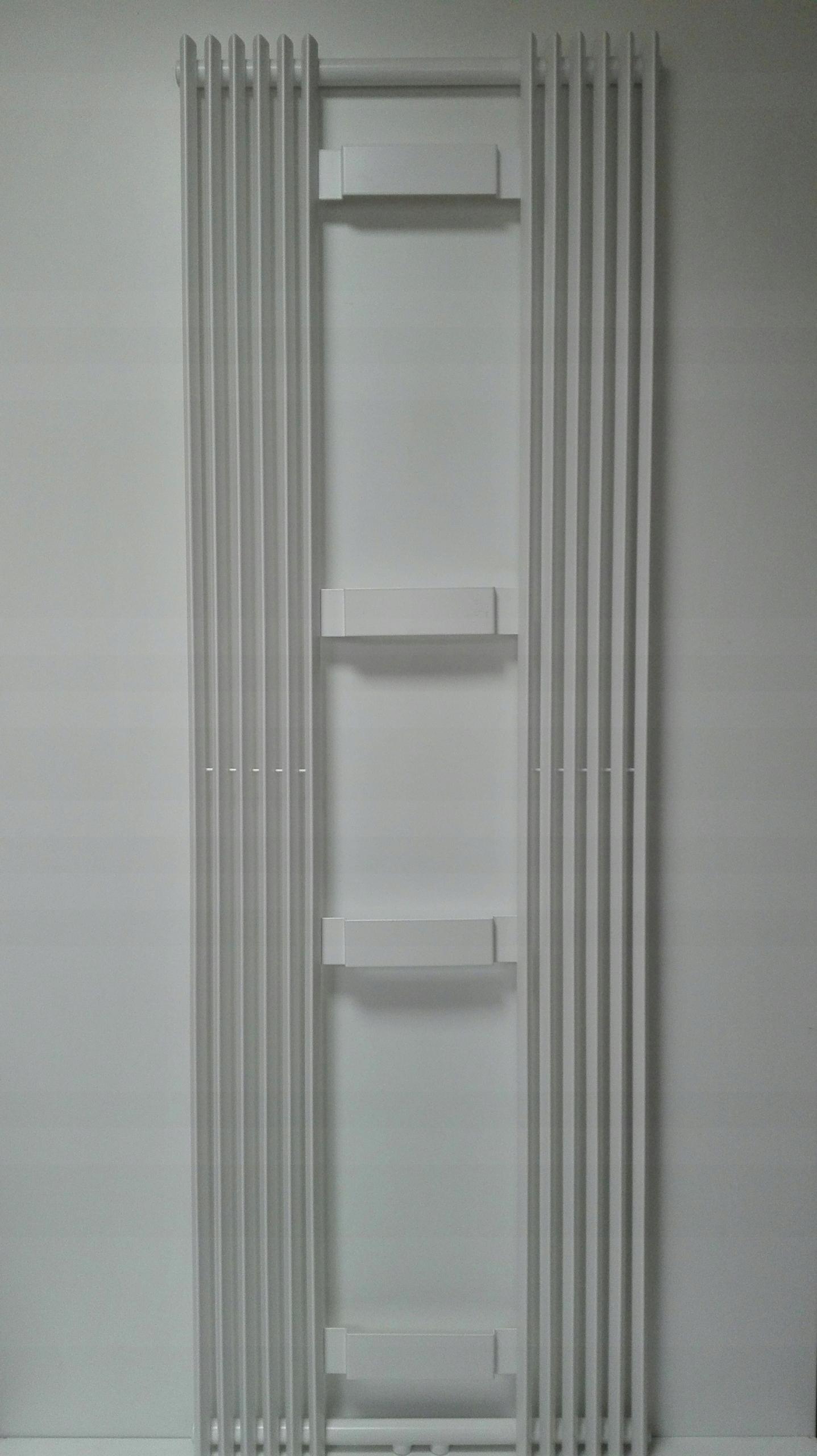 Grzejnik Dekoracyjny Pionowy 180x60biały Z Lustrem
