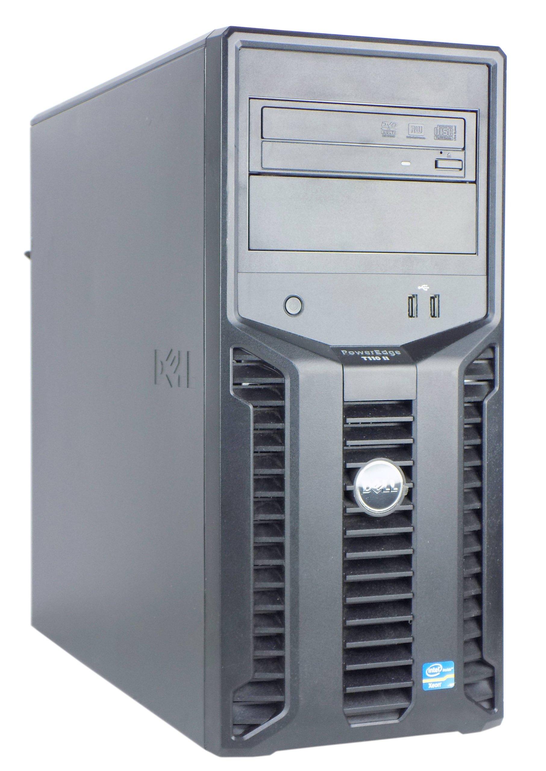 DELL T110 II XEON E3-1220 V2 8GB 300 SAS RAID GW12