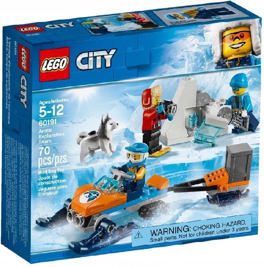 Lego Polska City Arktyczny Zespół Badawczy 7674926435 Oficjalne
