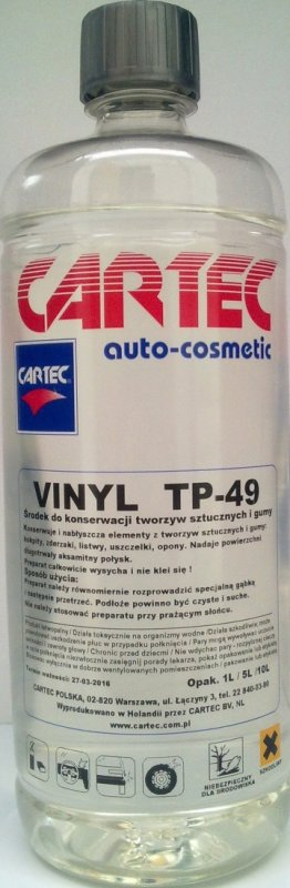 CARTEC VINYL TP-49 ELEMENTY ZEWNĘTRZNE 1L Bielany