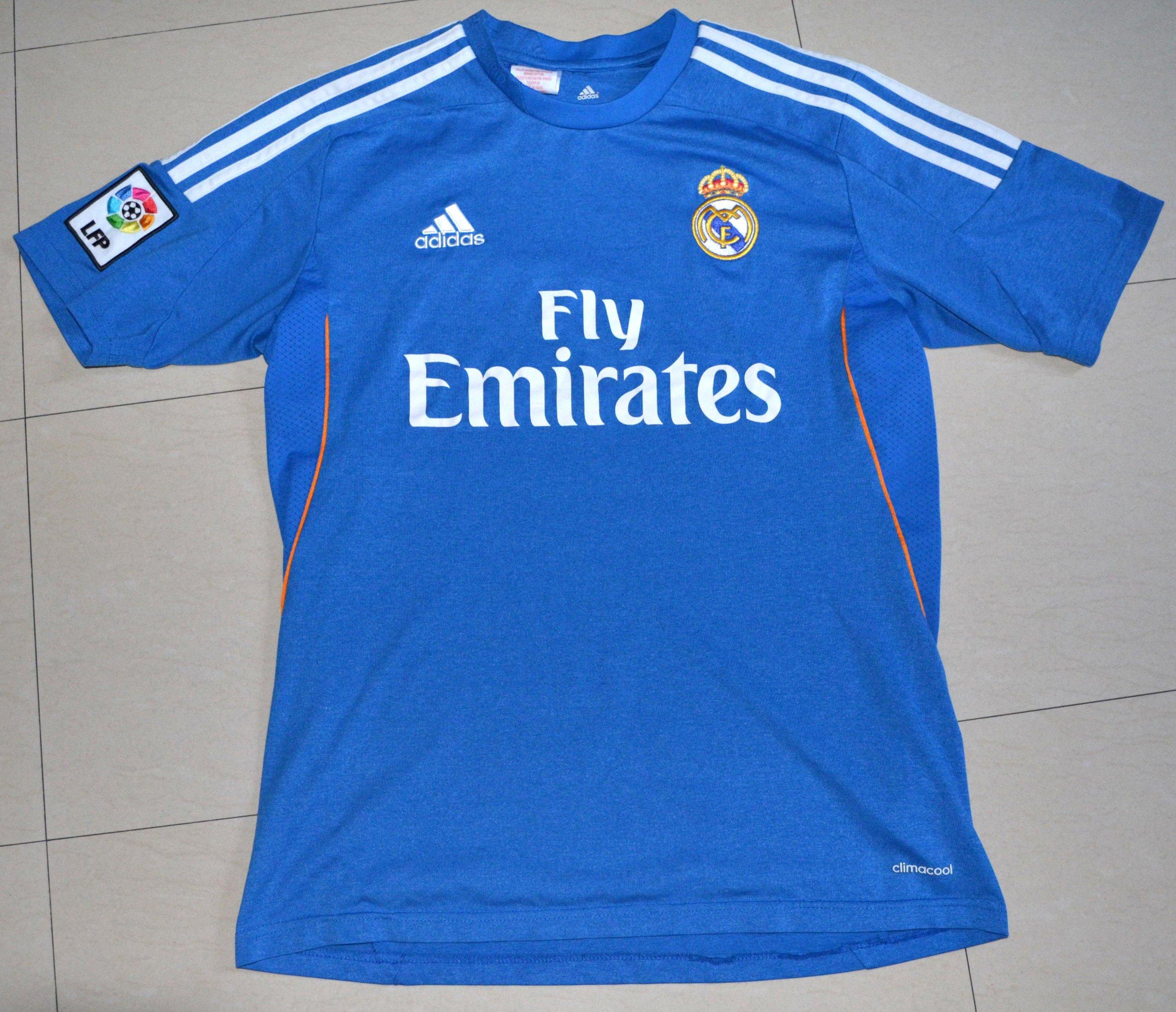 Niewiarygodnie Koszulka t-shirt Fly Emirates Adidas Real Madryt L - 7199072712 TG63