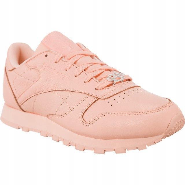 Reebok Buty damskie Classic Leather różowe r. 38 (