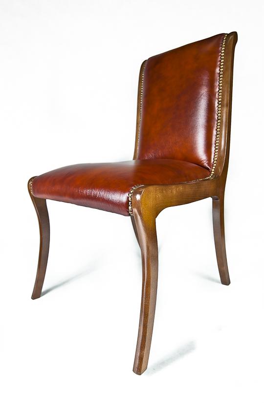 Skórzane Krzesła Chesterfield Pikowane Producent