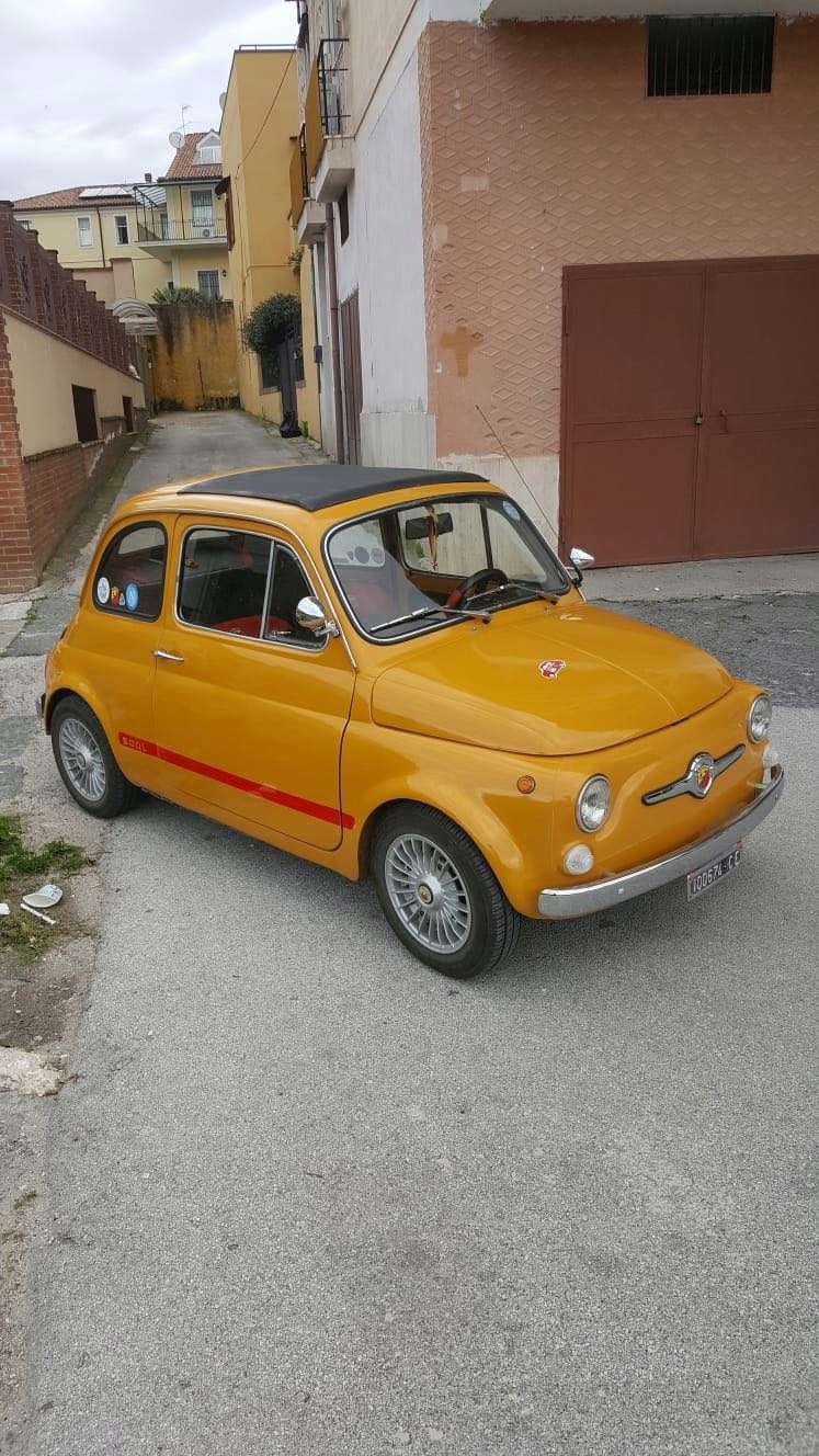 Fiat 500 ABARTH 59000km 1968rok
