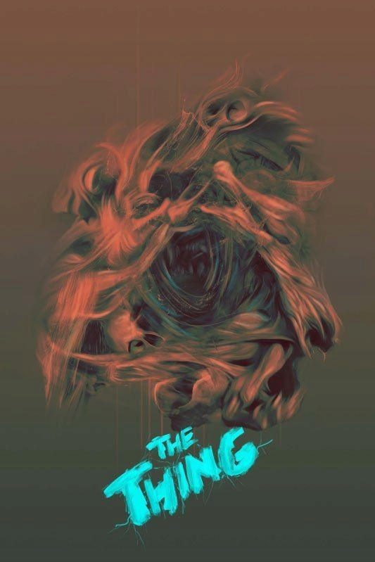 The Thing Coś Plakat Premium 7695053975 Oficjalne