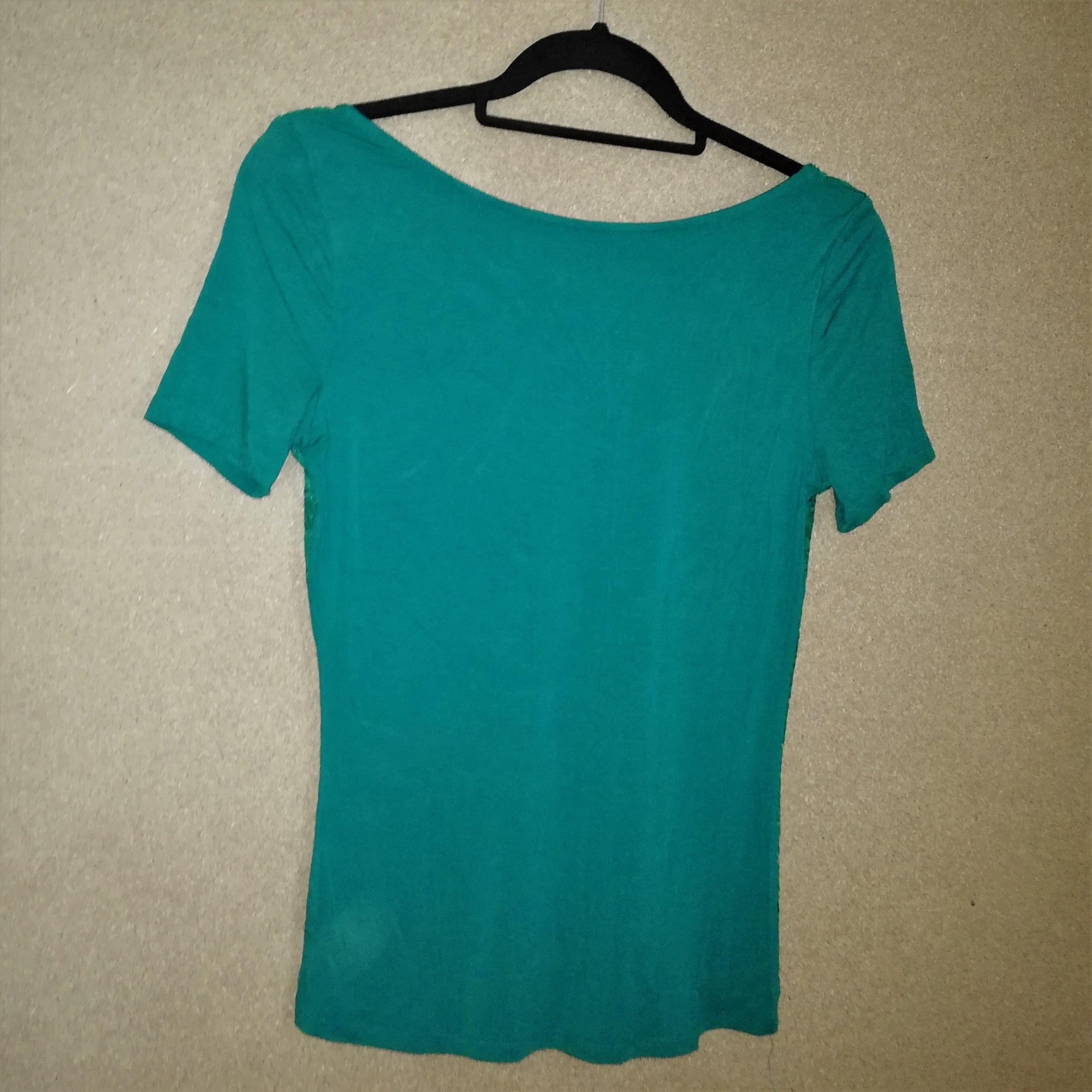 a36751f156 Zara Zielona bluzka