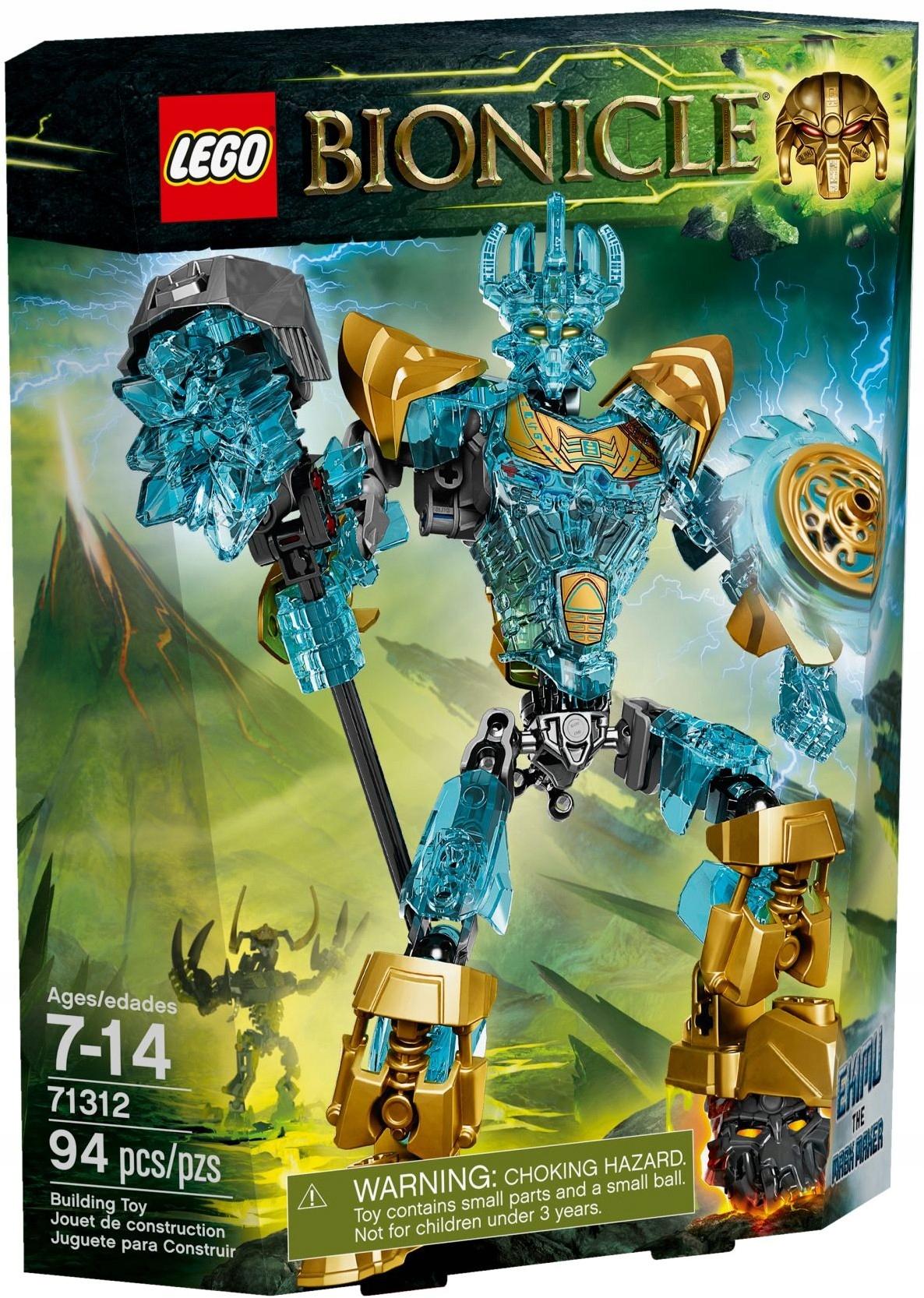 Lego Bionicle Ekimu The Mask Maker 71312 7464678503 Oficjalne