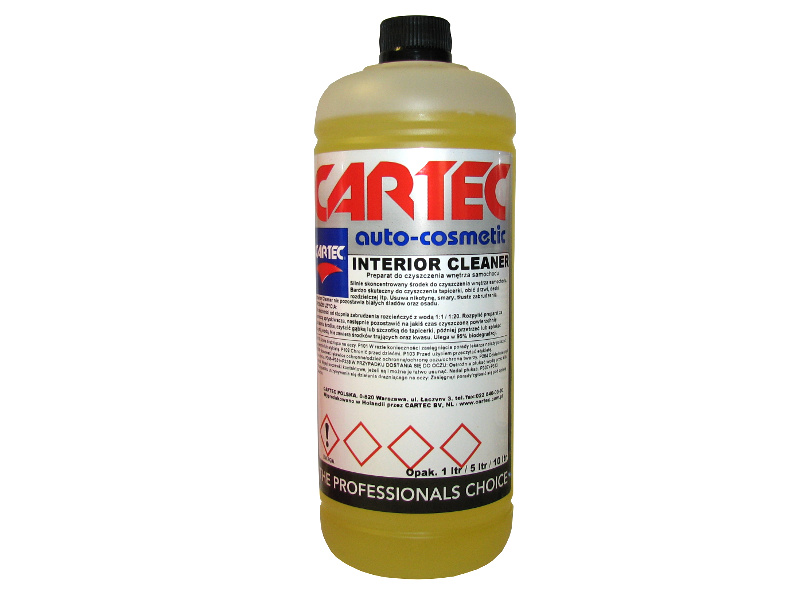 CARTEC INTERIOR CLEANER - do tapicerki,obić drzwi