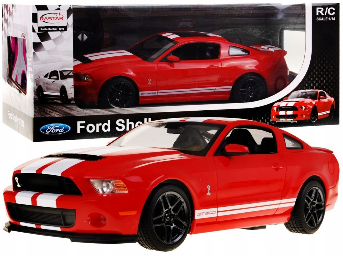 Ford shelby mustang gt500 114 licencjonowany 7625436030
