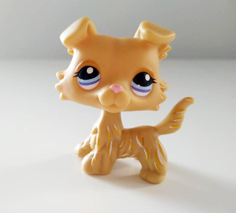 Littlest Pet Shop 1194 Piesek Beżowy Collie Lps 7340530548