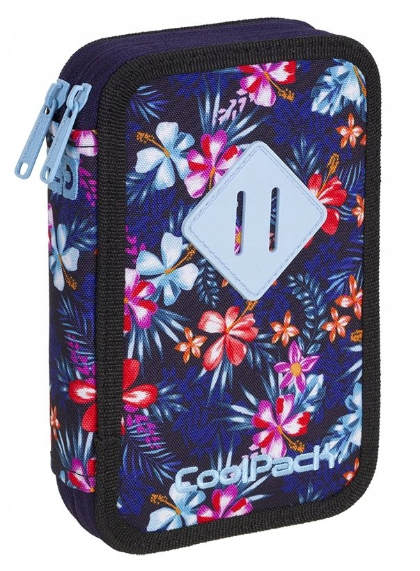 Piórnik CoolPack 2komorowy JUMPER 2 TROPICAL BLUIS