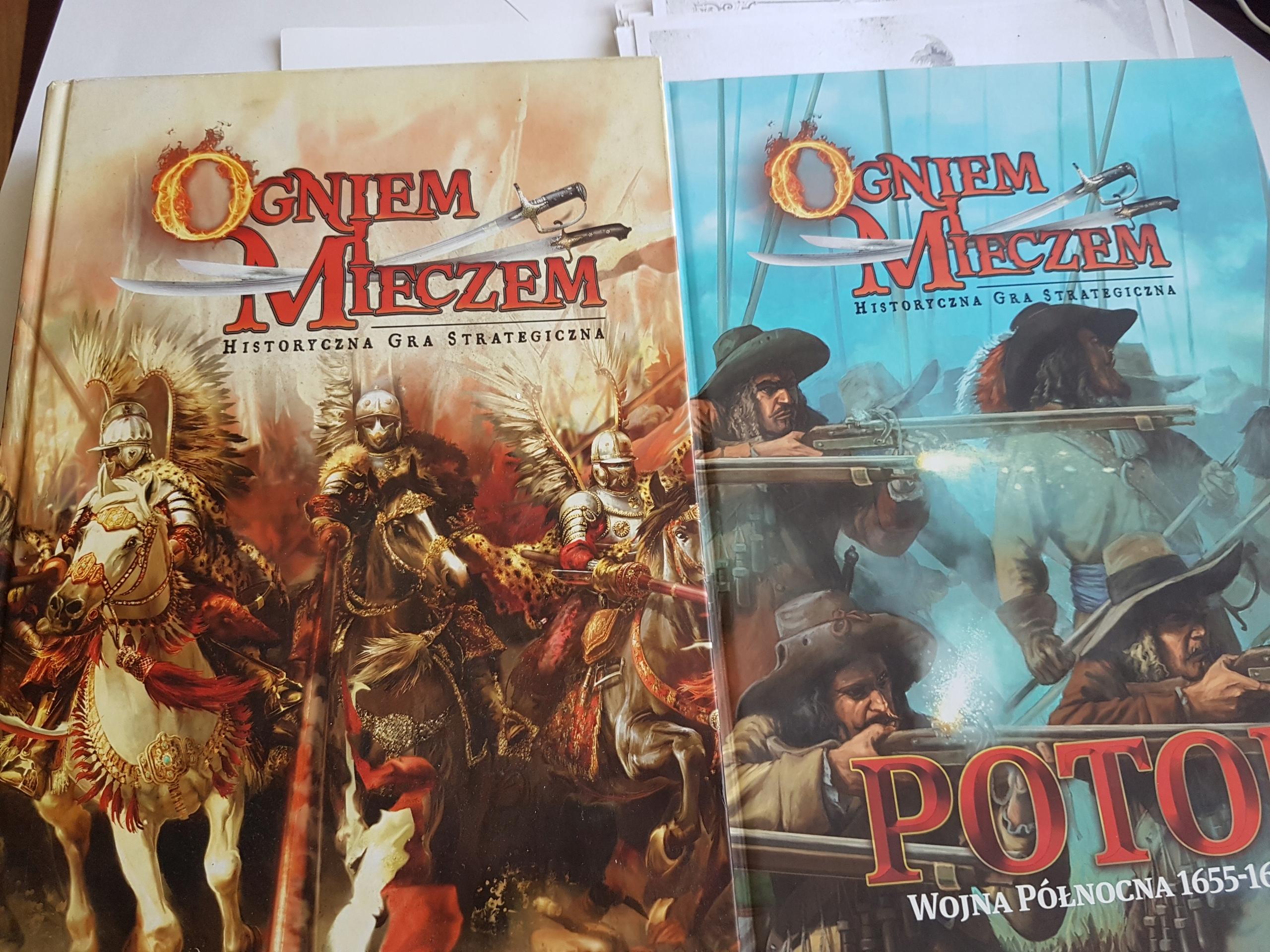 Ogniem i Mieczem, Wargamer, Podręcznik główny i Po
