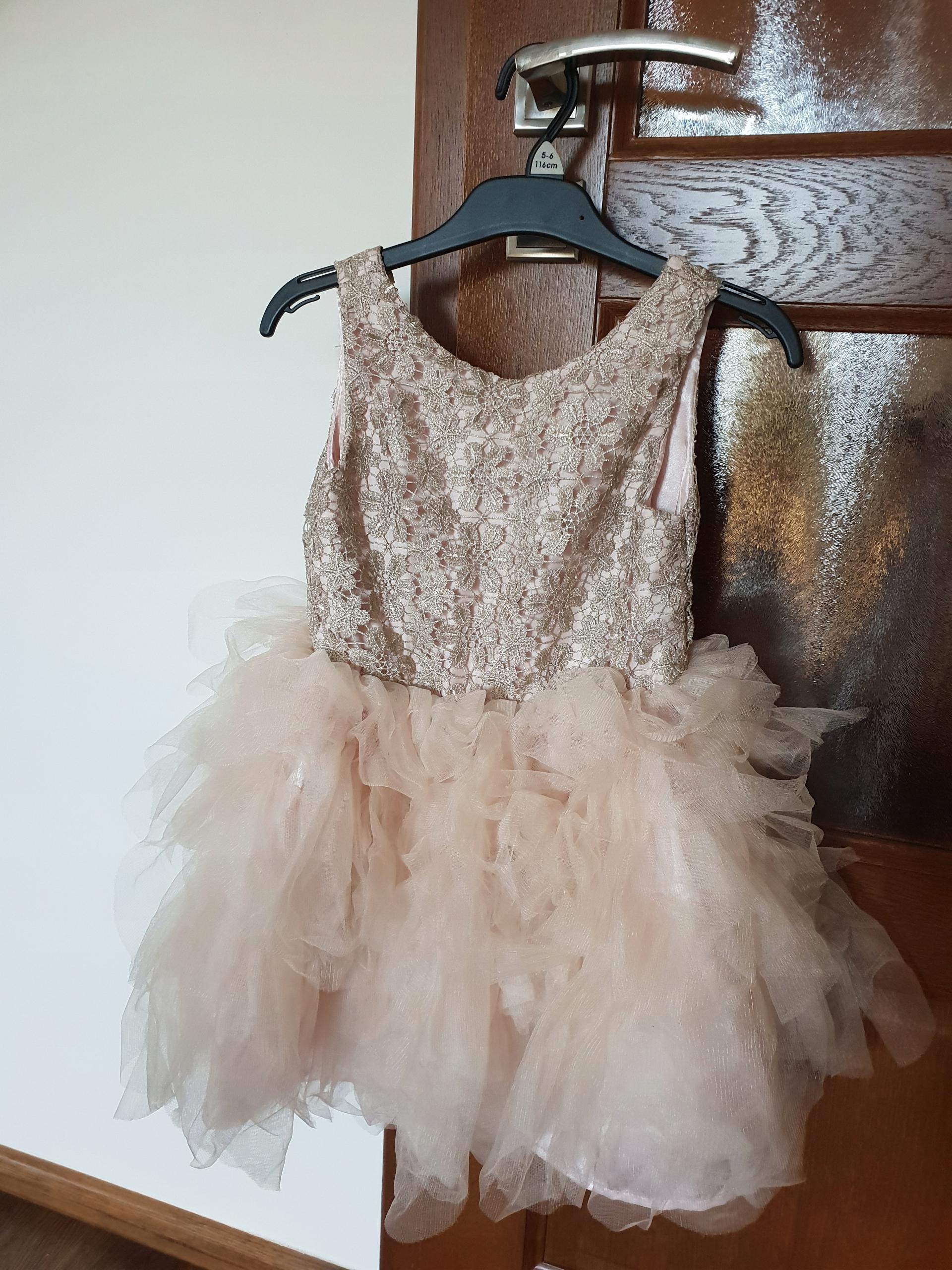 3d3358dfc0 Sukienka H M dla dziewczynki - 7640210926 - oficjalne archiwum allegro