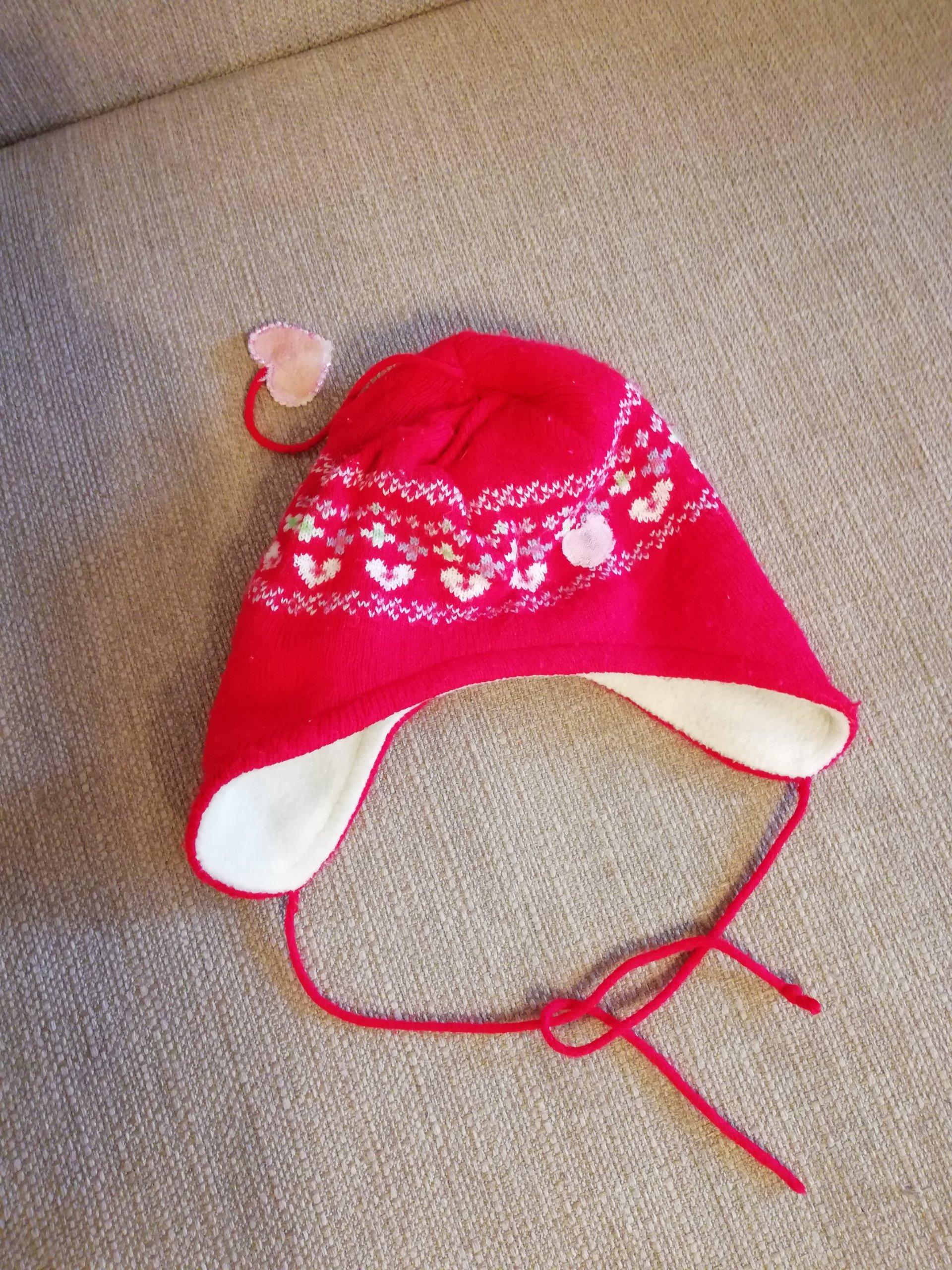 2c4254fb7f Zimowa czapeczka dla dziecka - 7269105072 - oficjalne archiwum allegro