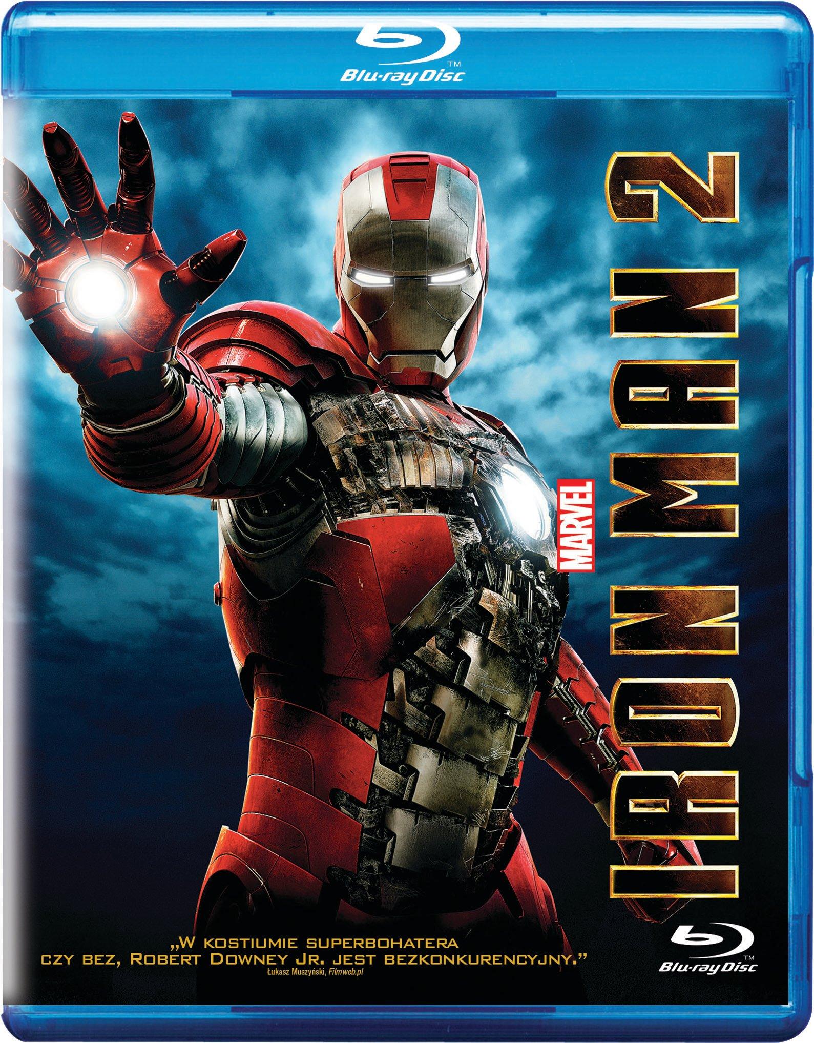 Iron Man 2 Płyta BLU RAY BD