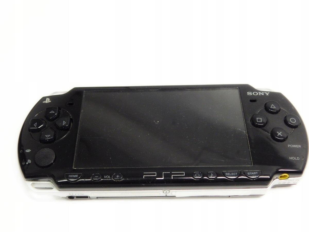 Konsola Sony PSP 2004 Slim Piano Black/ Na części
