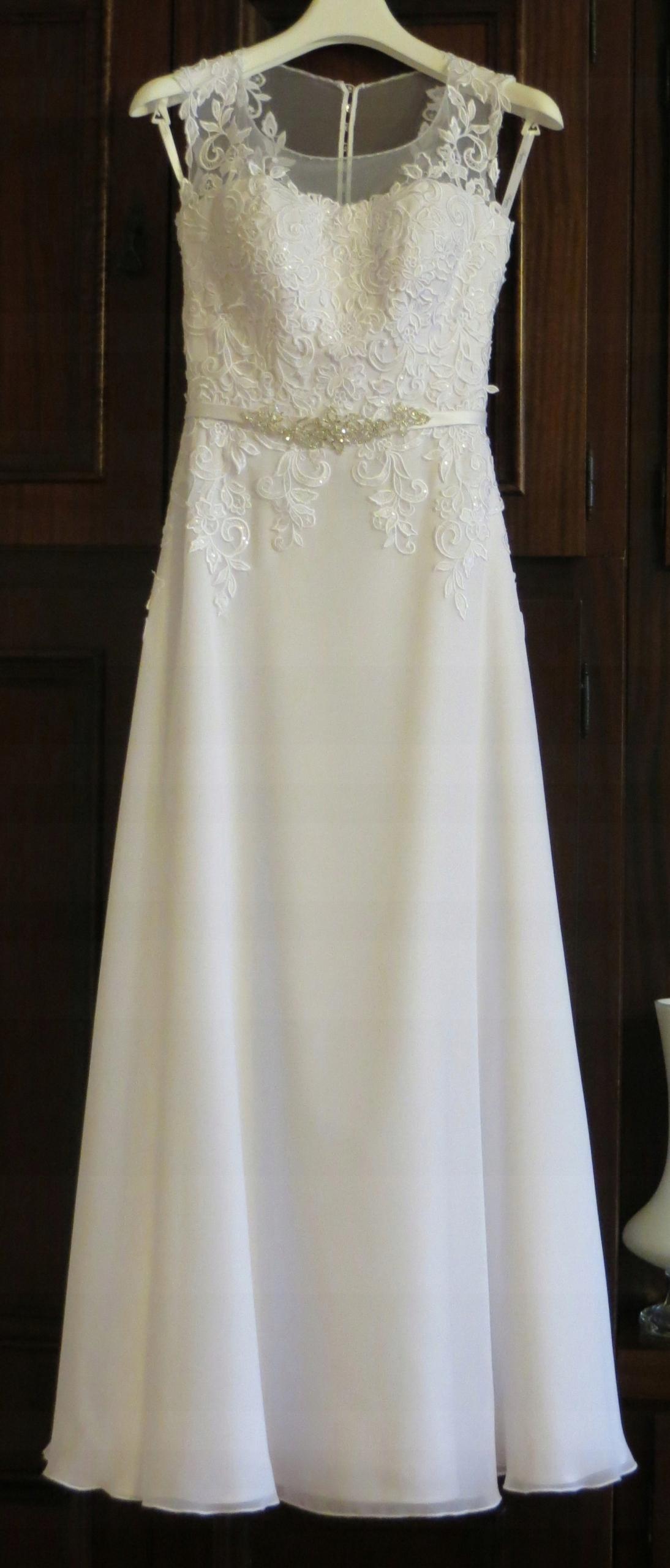 2d53e16100 Suknia ślubna Agnes - 7468460631 - oficjalne archiwum allegro