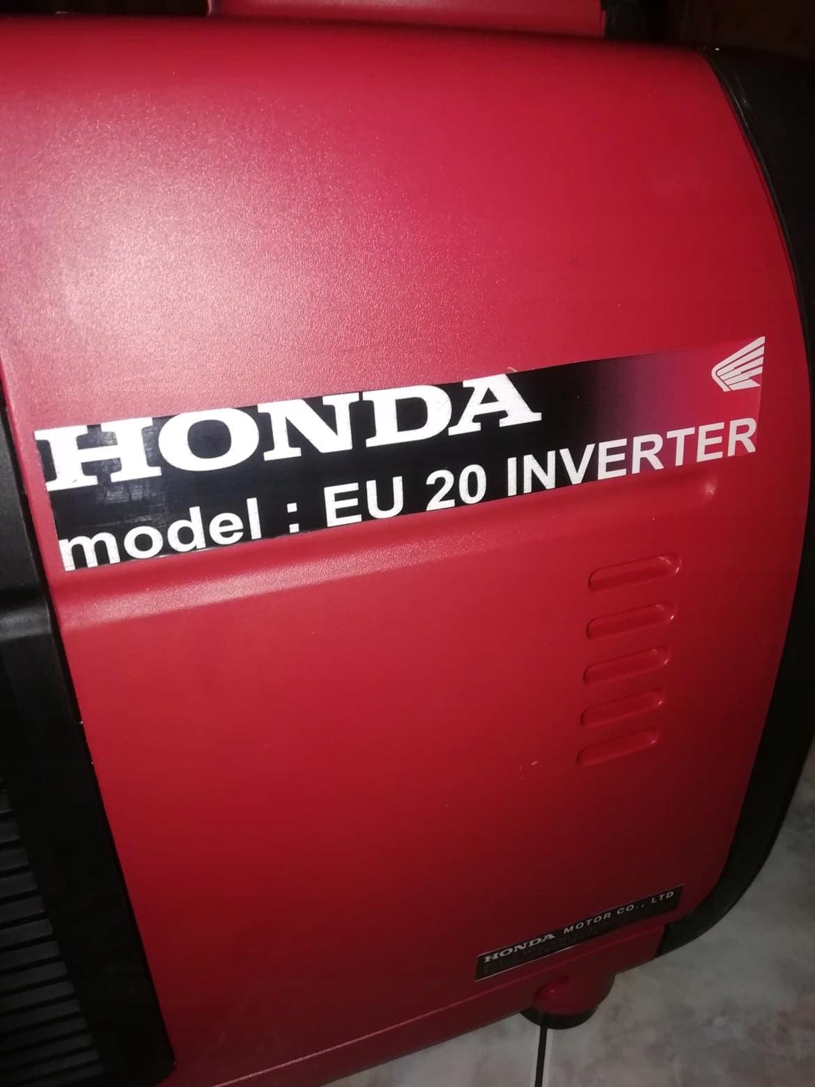 Cudowna Agregat prądotwórczy Honda eu20i 3,5 kW - 7704749574 - oficjalne CQ85