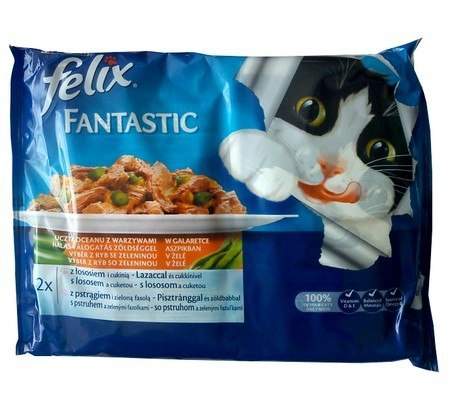 Felix Fantastic Uczta Oceanu z Warzywami w galaret
