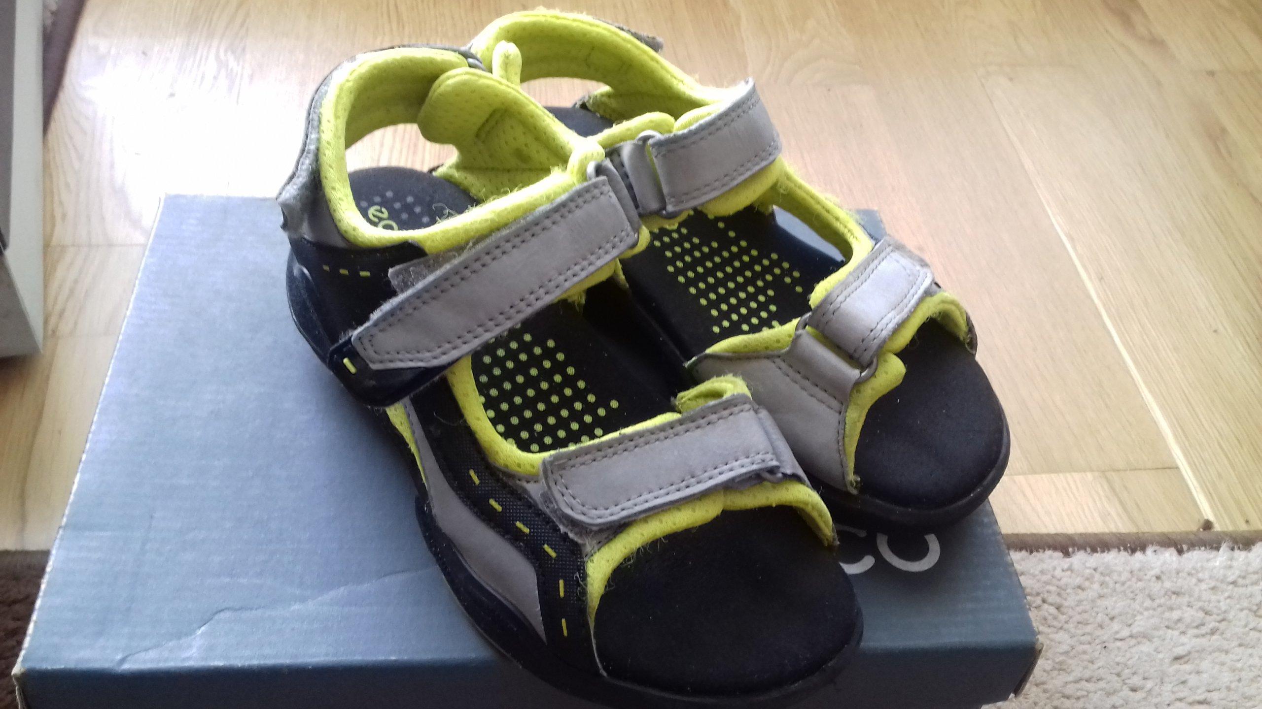 657555c0 Ecco Biom sandały dla chłopca rozmiar 32 stan bdb - 7396476528 ...