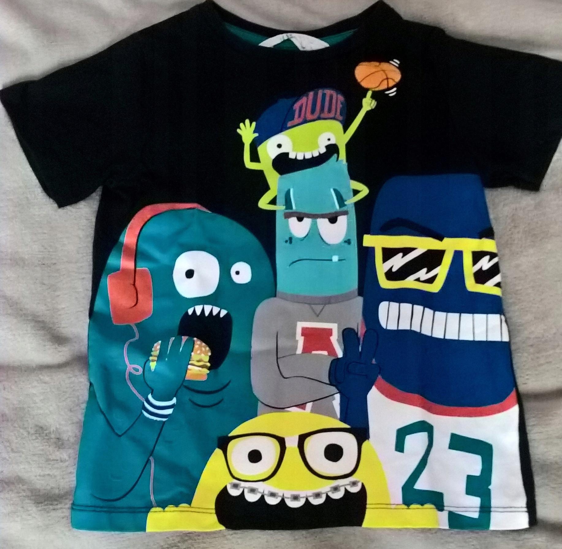 2 koszulki chłopięce r. 110