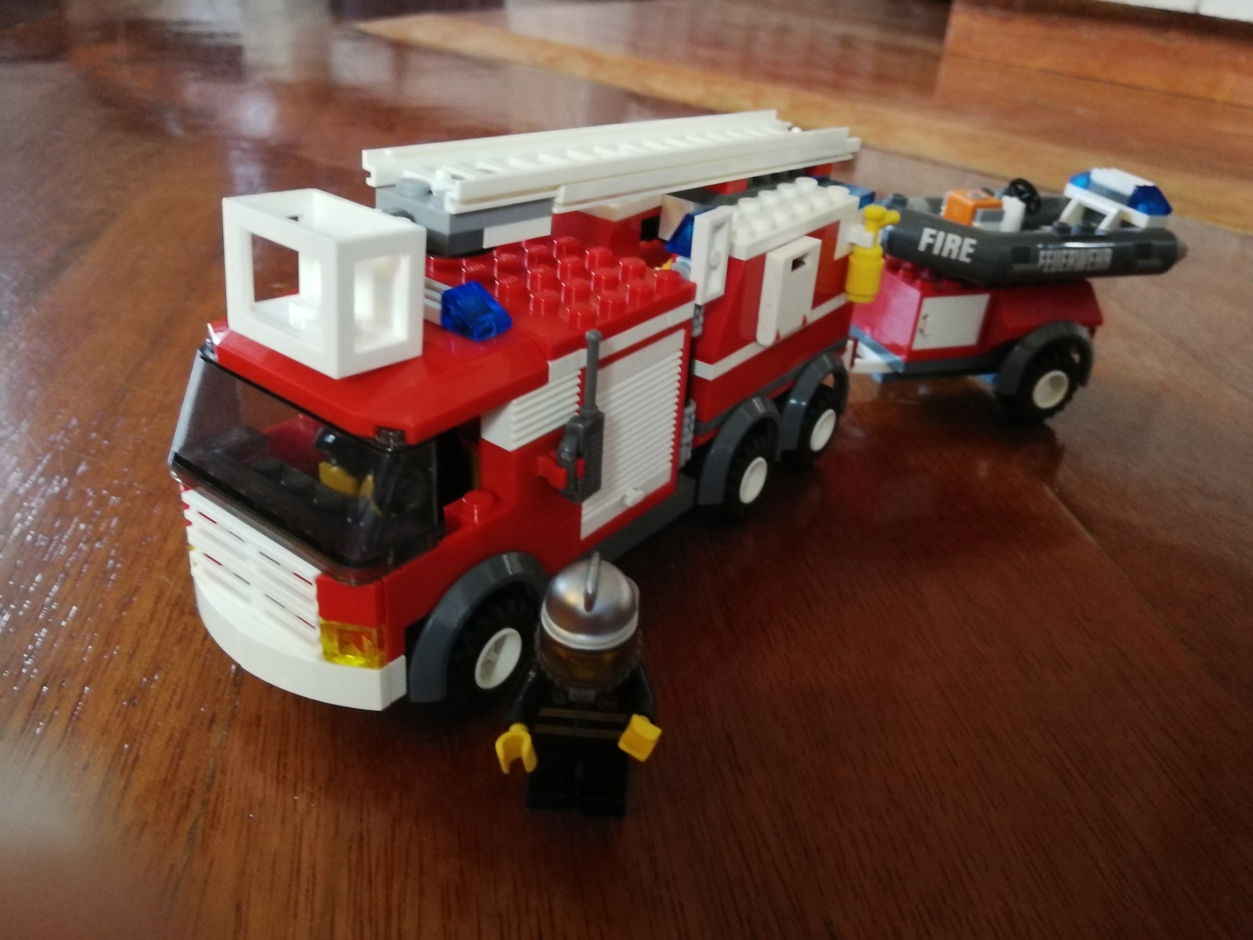 Zestaw Lego City Straż Pożarna 7239 7679148793 Oficjalne