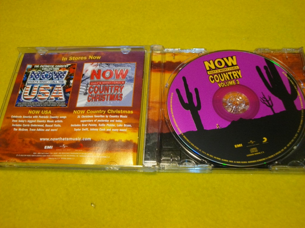VA- Now That\'s What I Call Country Vol.3-- CD - 7007246892 ...