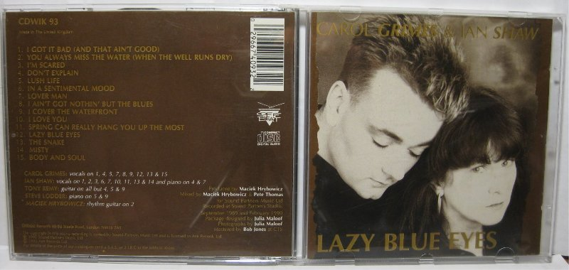 Carol Grimes & Ian Shaw - Lazy Blue Eyes