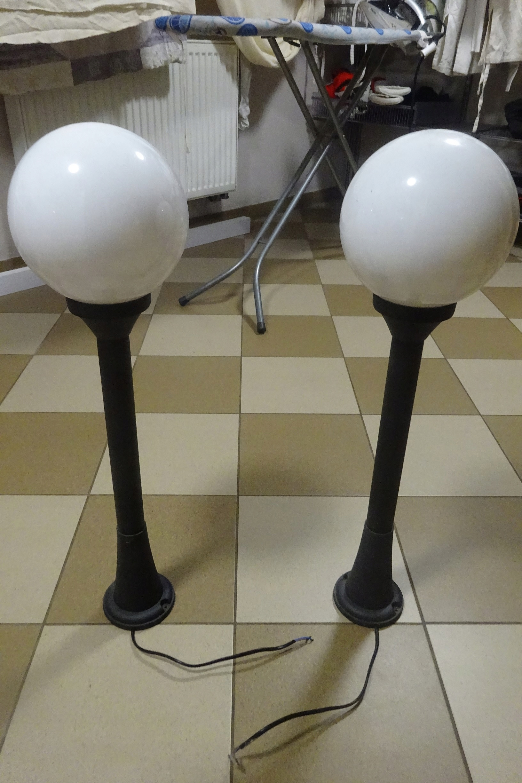 Sprzedam Lampy Ogrodowe Stojące