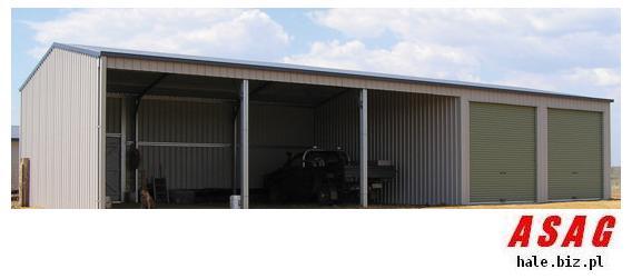 Konstrukcja Stalowa 675m2 Hala 15x45x5 Wiata Garaż 7089681795