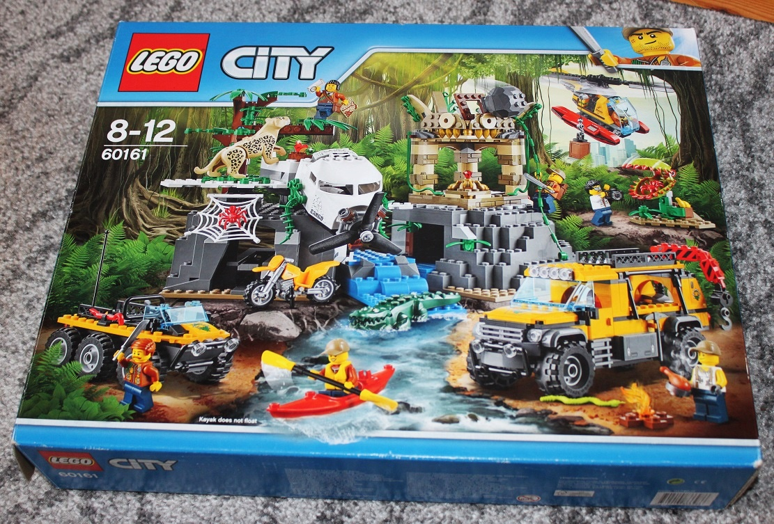 Lego City Jungle 60161 Komplet Baza W Dżungli 7354922332