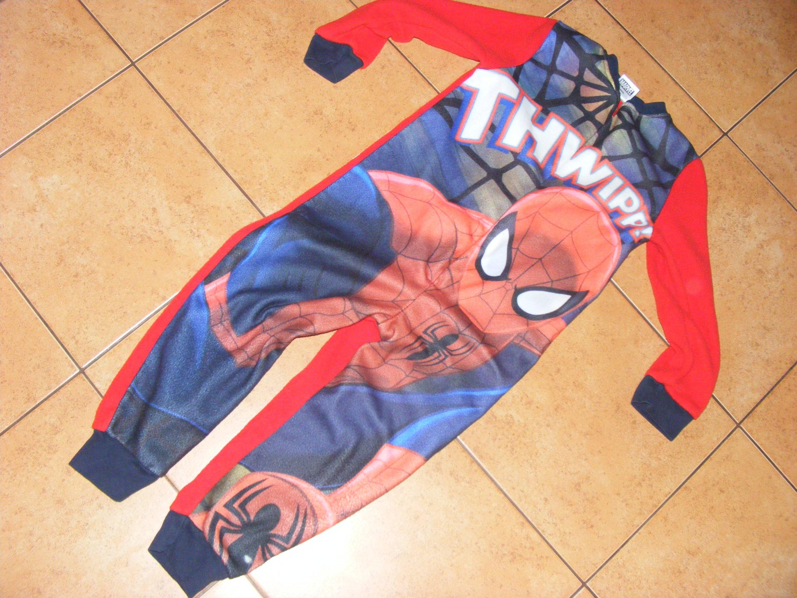 3649b65cf3782b Piżama pajacyk dla chłopca Spider man 110-116 - 7006334491 ...