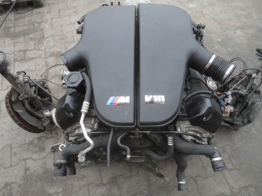Bmw M5 E60 E61 Silnik Kompletny 50 V10 S85b50 6676049423