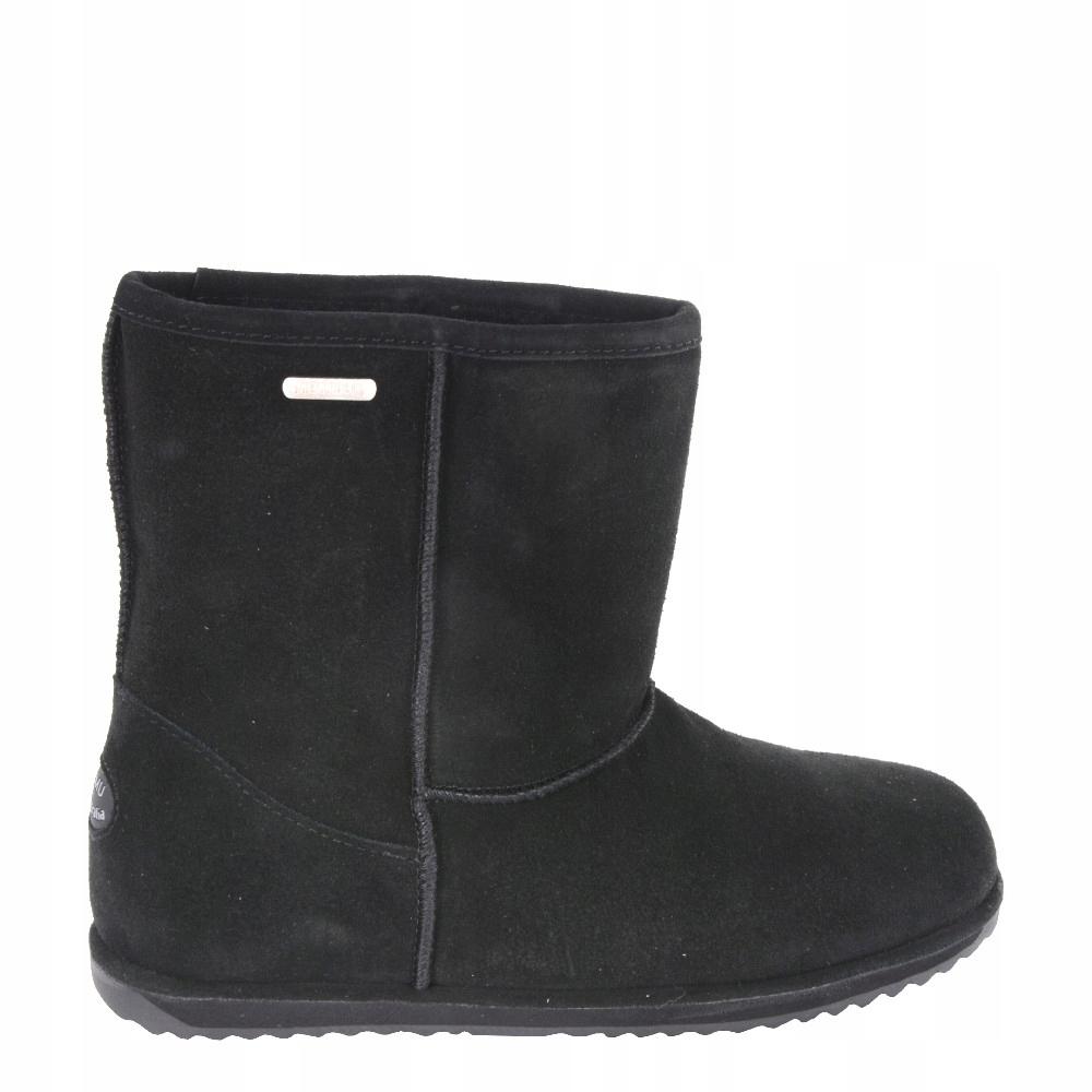 58e72759cd339 Buty EMU Australia Brumby Lo Teens Black Noir R.37 - 7667162946 ...