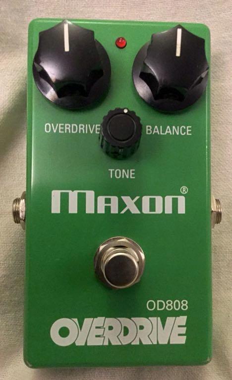 MAXON OD 808 OVERDRIVE JAPAN