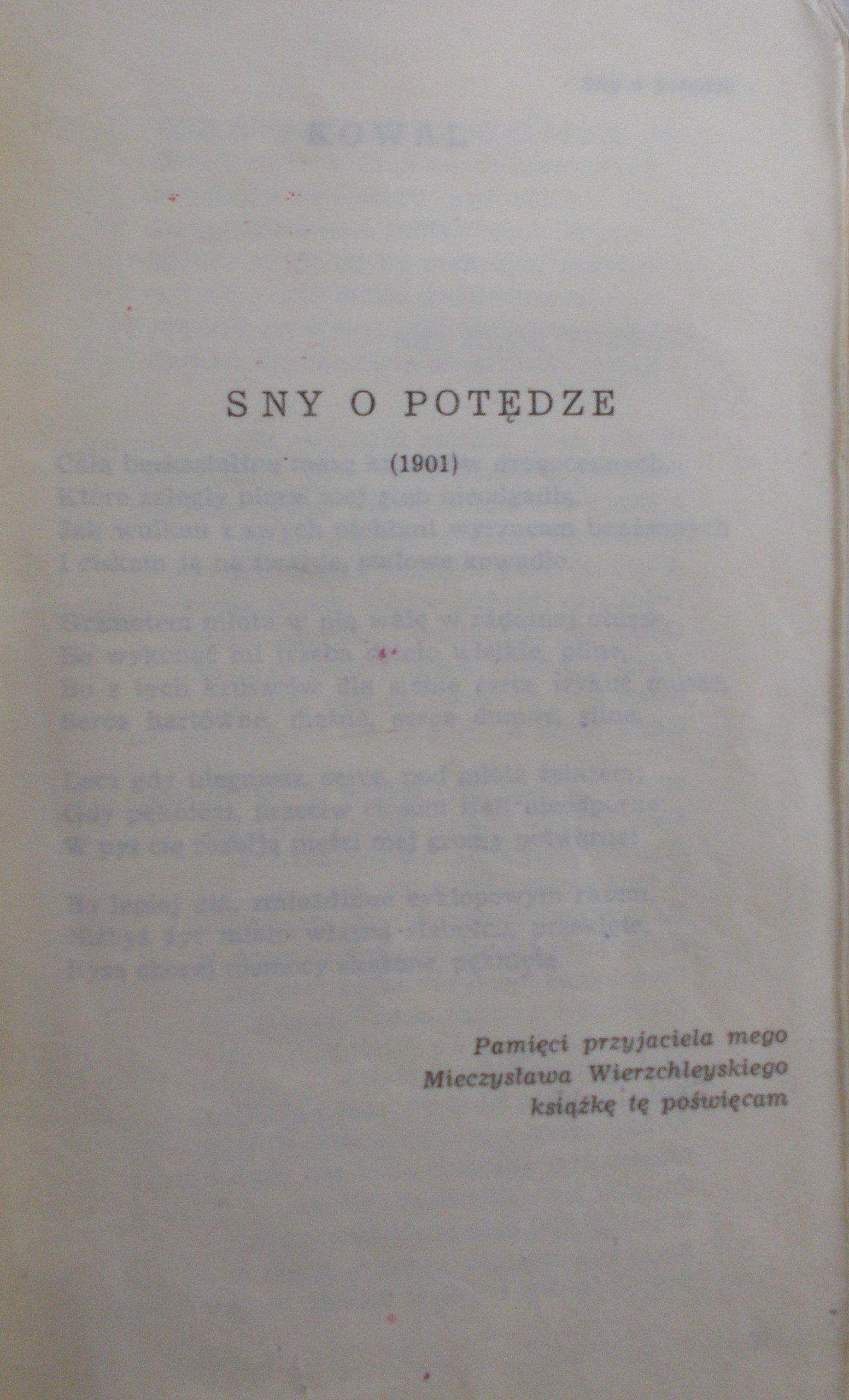 Leopold Staff Poezje Zebrane 7110622244 Oficjalne