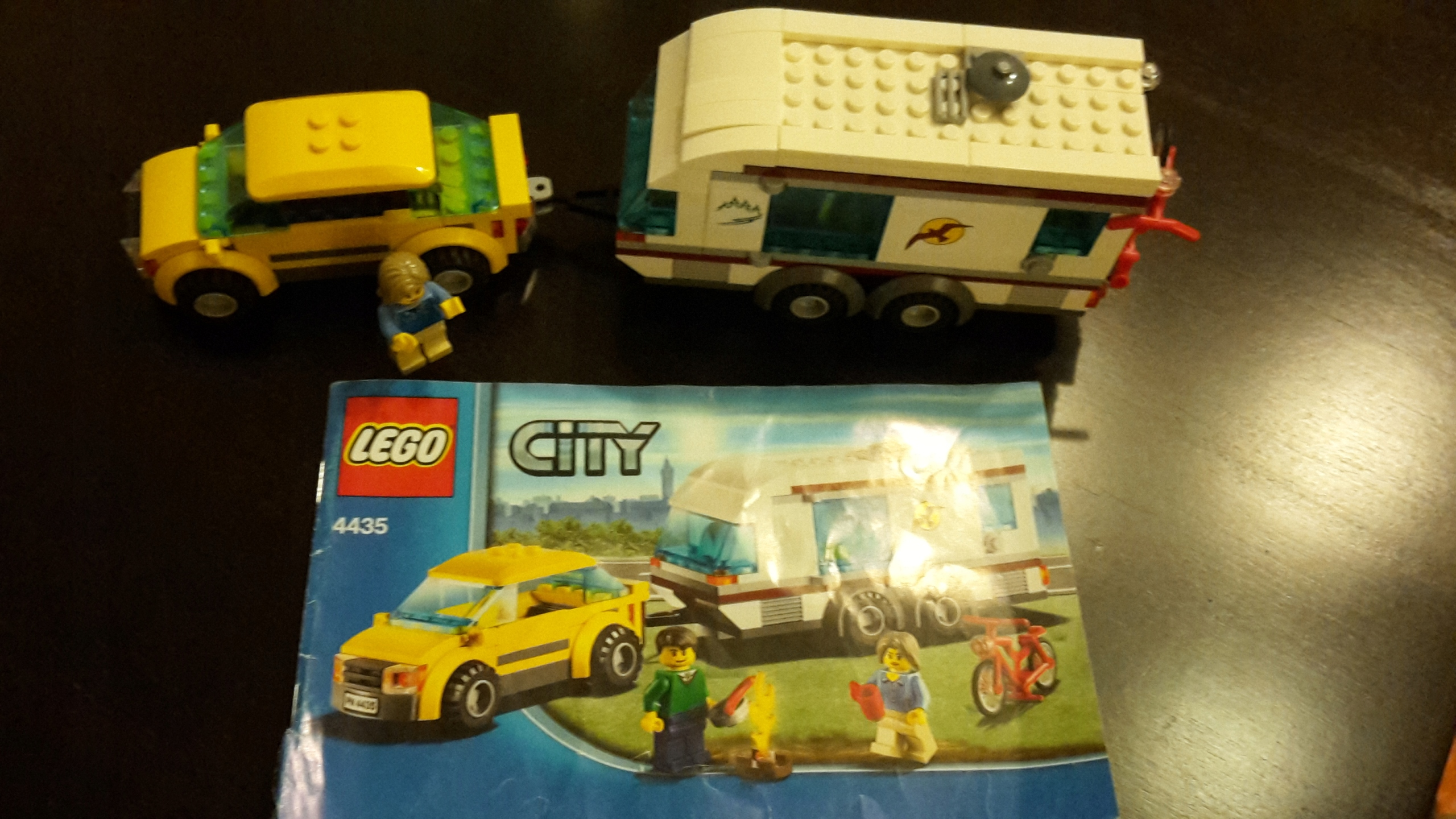 Lego City 4435 Samochód Z Przyczepą Kempingową 7448924452