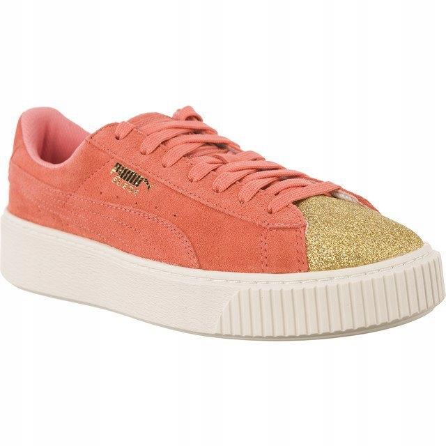2ade25e43a076c Inny kolor Różowe Zamszowe Buty Puma r.38 - 7586215413 - oficjalne ...