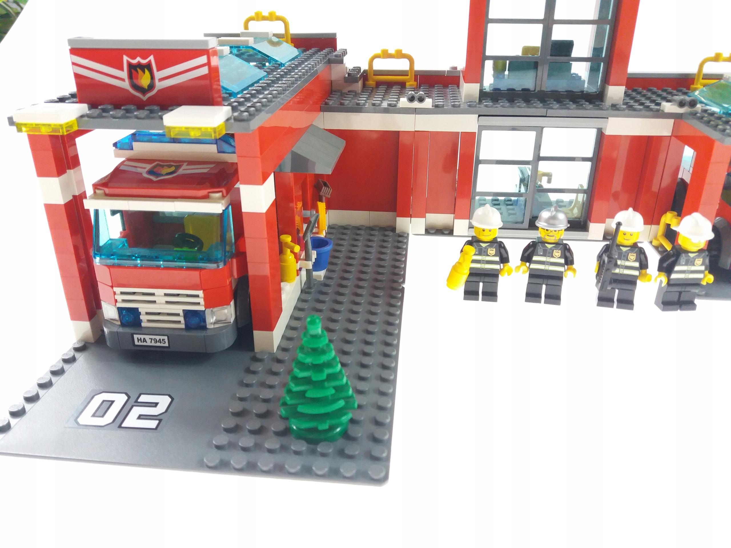 Lego City 7945 Fire Station Straż Pożarna Remiza 7569113827