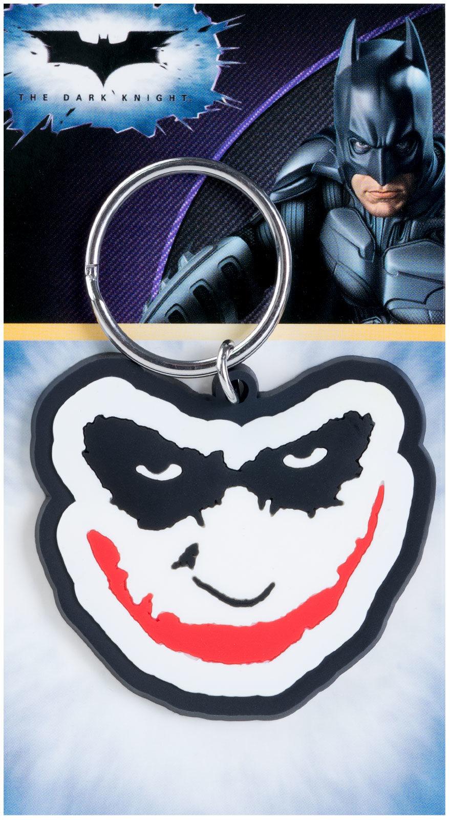 Batman Joker Smile - brelok filmowy na klucze