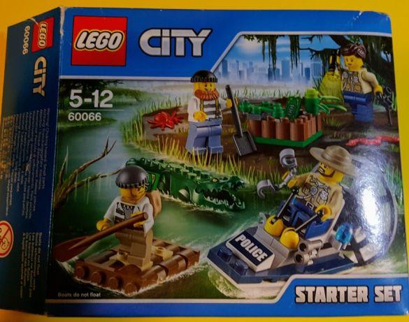 Lego City 60066 Policja Z Bagien Zestaw Lublin 7187658589