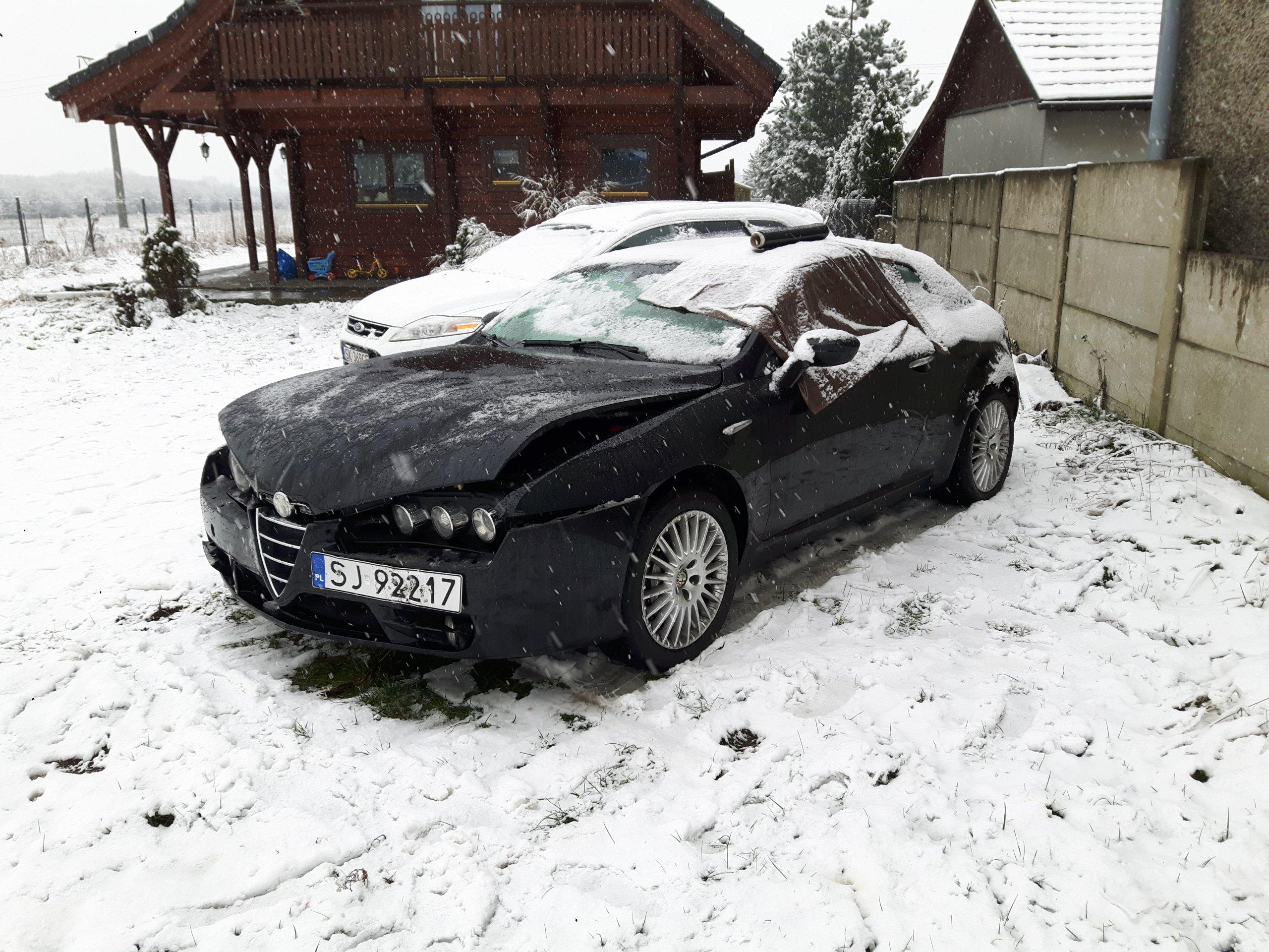 Alfa Romeo Brera 3 2 JTS uszkodzona oficjalne