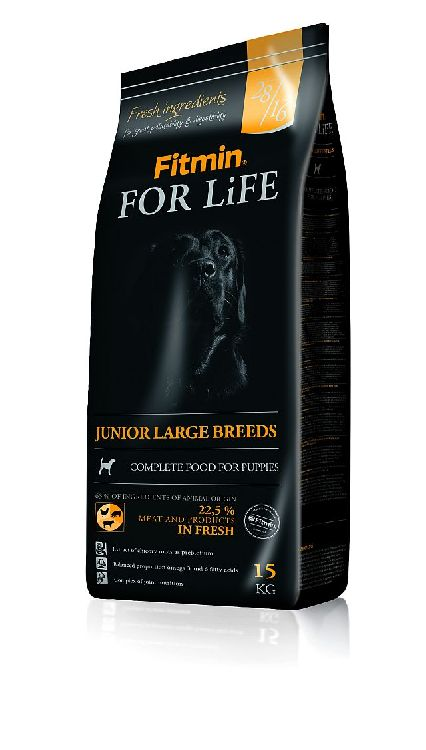 Fitmin for life JUNIOR LARGE szczenięta duże 15kg